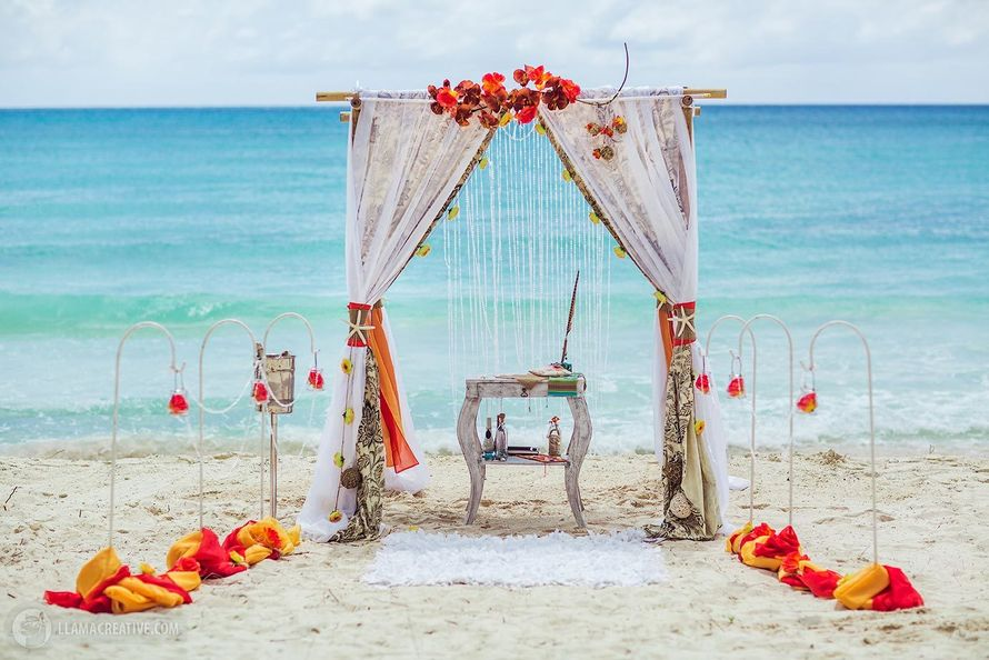 Свадьба в стиле Бохо шик - фото 4036887 Свадебное агентство GrandLoveWedding в Доминикане