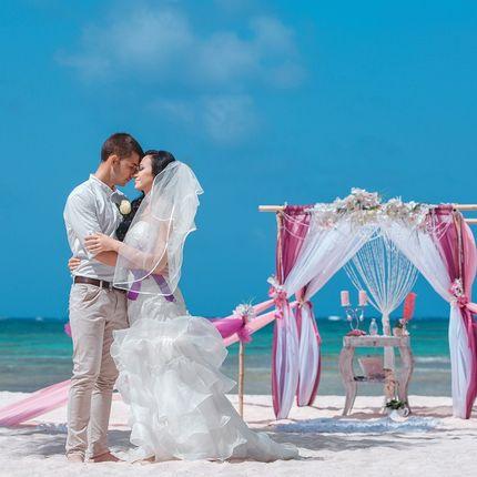 Организация свадьбы на пляже Амор
