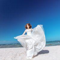 Невеста на пляже