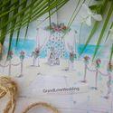 Эскиз Свадьбы в Доминикане