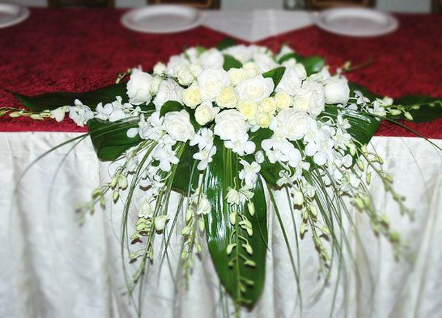 Букеты своими руками на свадебный стол 469