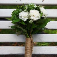 Свадебный букет в стиле рустик,свадьба так и кричала натуральными красками,свежестью и жизнью!