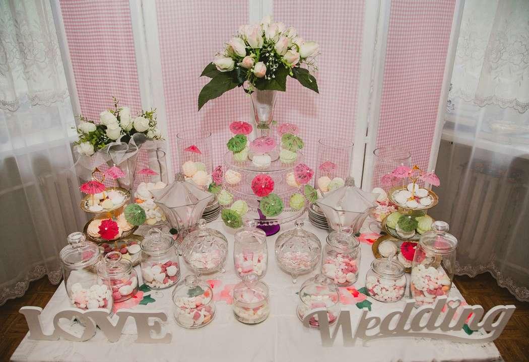 """Фото 2260894 в коллекции Сandy bar( сладкий стол) - Студия свадебного декора """"Антураж"""""""