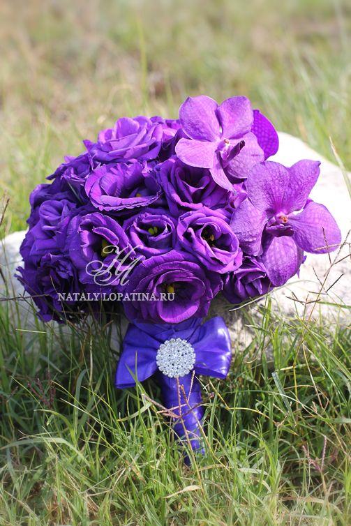 Букет с орхидеей Ванда - фото 3132105 Наталья Лопатина - флорист-дизайнер