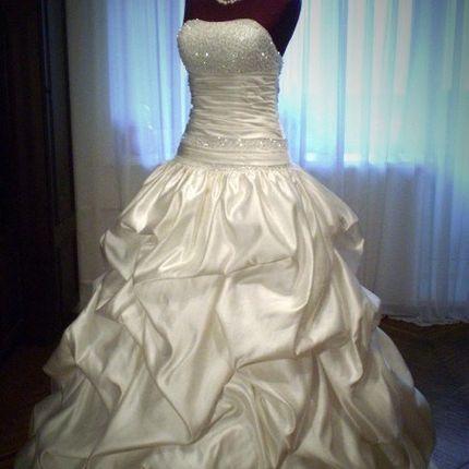 Платье со сваровски