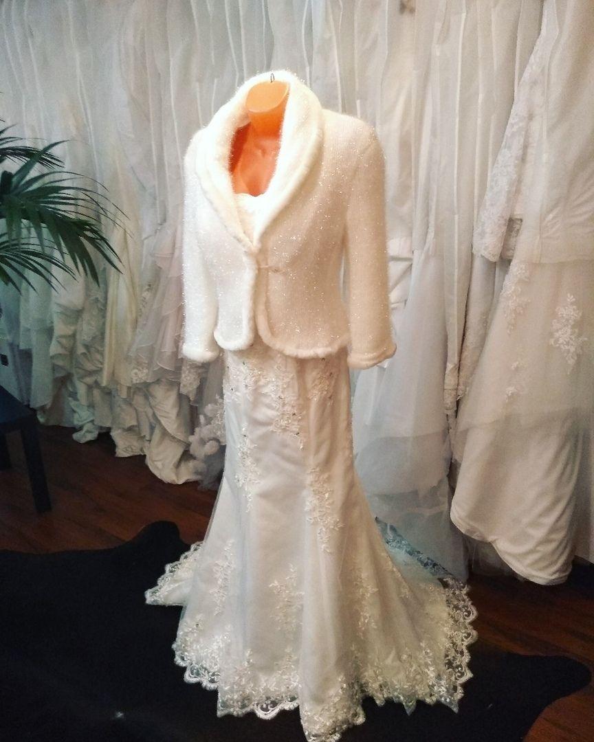 Платье и шубка на прокат
