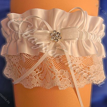 """Подвязка невесты """"Неженка"""""""