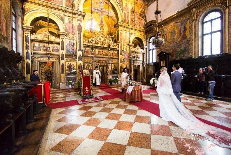 Православное венчание в Венеции - фото 18900282 Italia Viaggi - организация свадеб