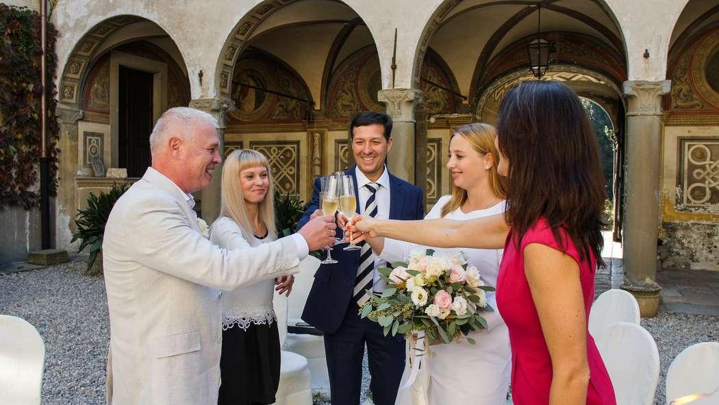 Символическая церемония в средневековом замке. Октябрь 2018 - фото 19088418 Italia Viaggi - организация свадеб