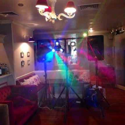 Диджей, свет, дым и 3кВт проектор