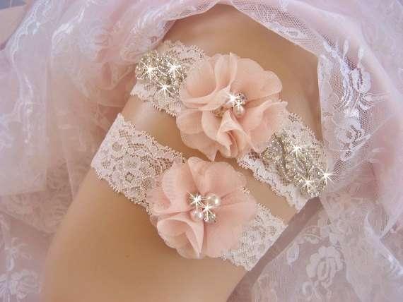 """Фото 3106049 в коллекции Тренд сезона - пояса и подвязки с цветами, камнями и жемчугом. - Студия свадебного декора """"Счастье"""""""