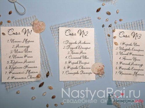 Фото 63002 в коллекции Рассадка гостей на свадьбе - «Настя Рай» - платья, аксессуары, цветы и декор