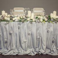 Зимняя свадьба, серая свадьба, рустик, шишки, ветки, свечи