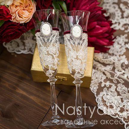 Свадебные бокалы Марсала