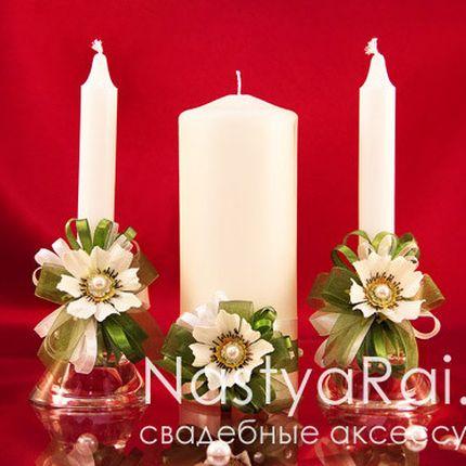 Свадебные свечи коллекция космея