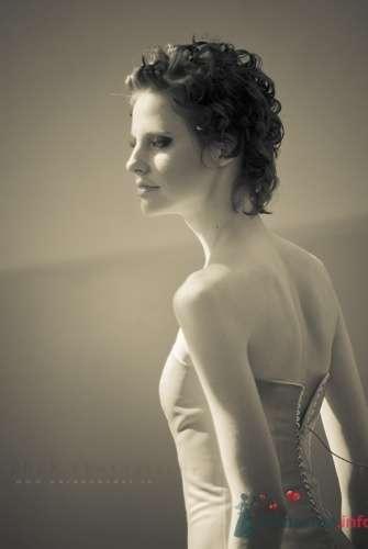 Прическа невесты для коротких волос. - фото 466 Невеста01