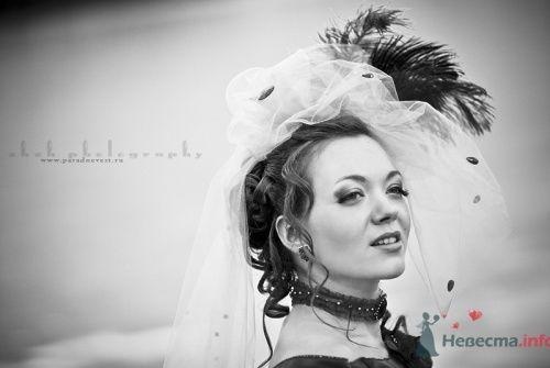Невеста в шляпе с пером. - фото 472 Невеста01