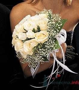 """Свадебный букет """"Белоснежка"""" - фото 401 Mallina Botanique - праздничное оформление"""