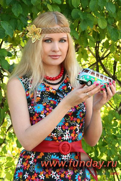 """хиппи-ведущая - фото 73433 Funday - свадебное агентство парка """"Сокольники"""""""