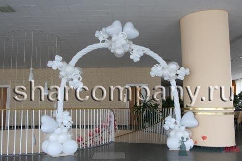 """Еще одна арка из шариков - фото 15167 Компания """"Шар"""" - оформление"""