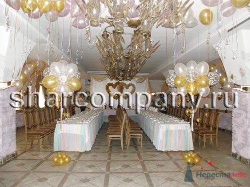 """Украшение зала - фото 15618 Компания """"Шар"""" - оформление"""