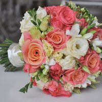 Букет, букет невесты, розы