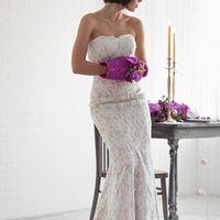 муфта вместо букета невесты