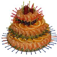 Фруктовая композиция Торт Высота около 30см Стоимость 2400р