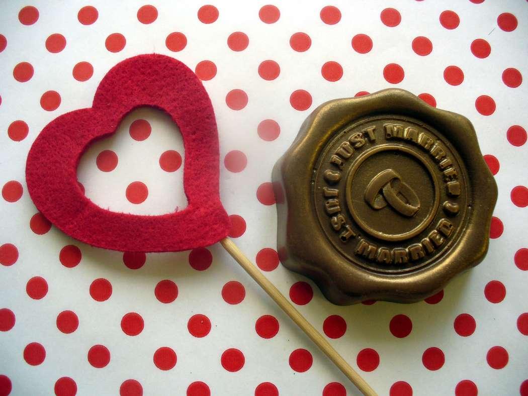 """Шоколадная печать """"Just Married"""" Вес ок.75гр Стоимость 190р - фото 14760360 """"Вкус жизни"""" - сладкие подарки на свадьбу"""
