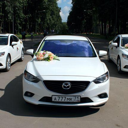 Свадебный кортеж Mazda 6