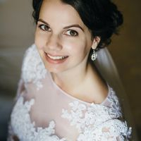 Невеста Лола Фотограф: Илья Жильцов Визажист-стилист: Марина Усова