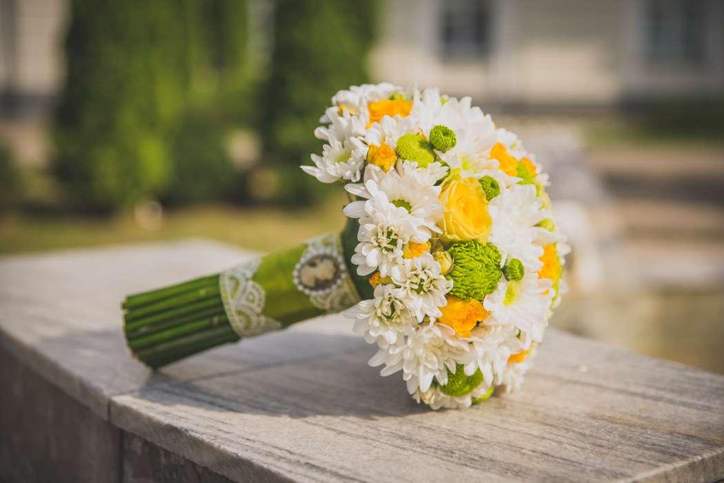 Букет невесты из хризантем как сделать 829