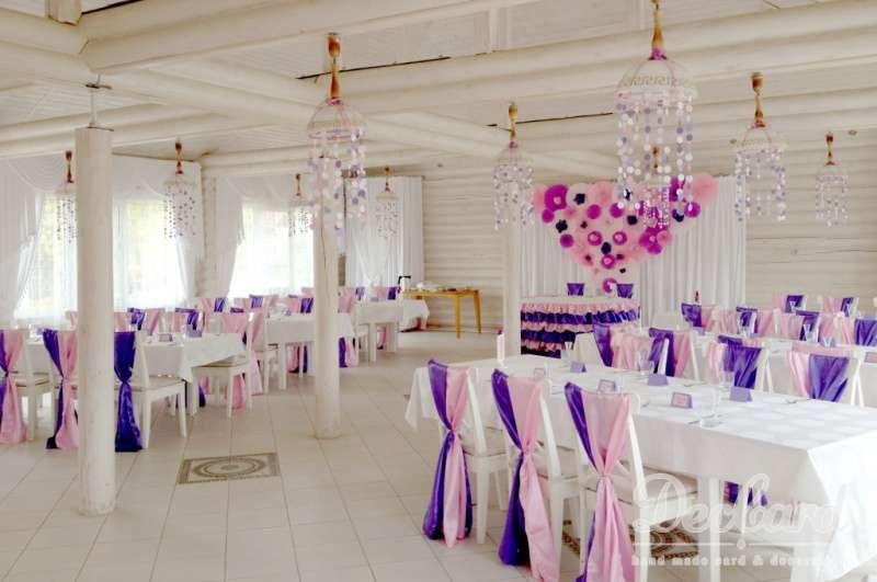 Свадебное оформление зала! - фото 2549959 Студия оформления Deccard