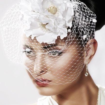 Шляпка свадебная
