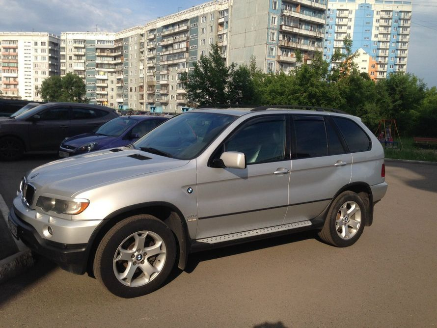 Аренда BMW X5 2004 г.в. Цвет серебро