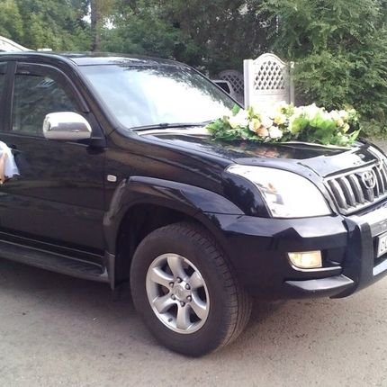 Аренда Toyota Land Cruiser Prado , 2008 г.в. Цвет черный.
