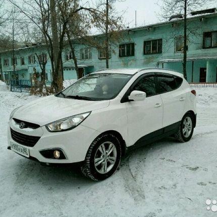 Hyundai IX35 2012 г.в. Цвет белый