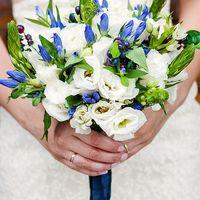 Черничная свадьба. Blueberry wedding