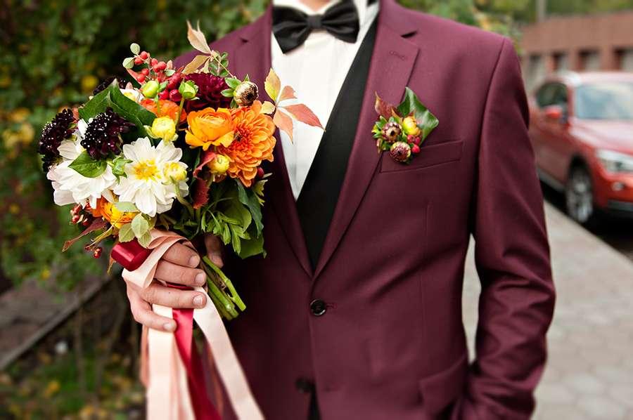 свадебный осенний буккет - фото 3280037 Свадебный фотограф Lovelywednet