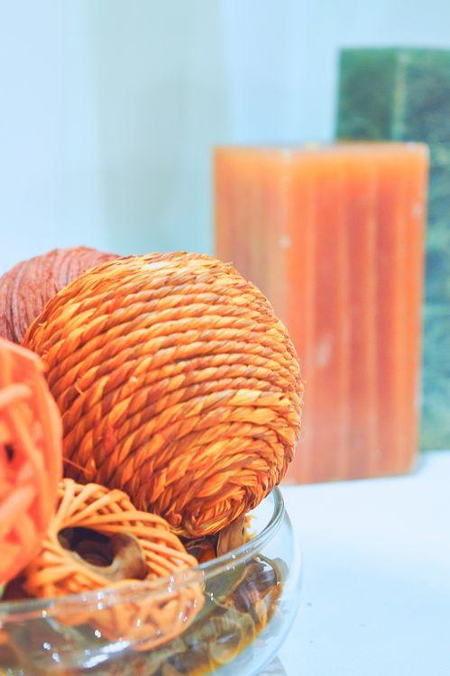 Элементы декора (Апельсиновый декор)