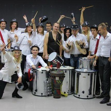 Бразильское шоу барабанов