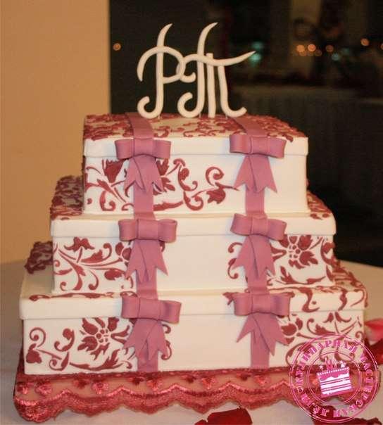 """Торт для Рустама и Татьяны - фото 2575751 Кулинарная мастерская """"Мисс Бисквит"""""""