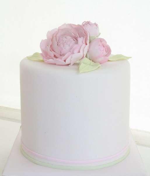 """Свадебный торт для небольшой свадьбы - фото 2575777 Кулинарная мастерская """"Мисс Бисквит"""""""