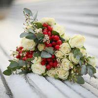 Букет невесты. Зимняя свадьба. Фотограф на свадьбу