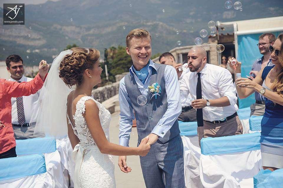Фото 2327758 в коллекции Свадьба Анастасии и Дениса ! - Weekend Montenegro - свадьбы в Черногории