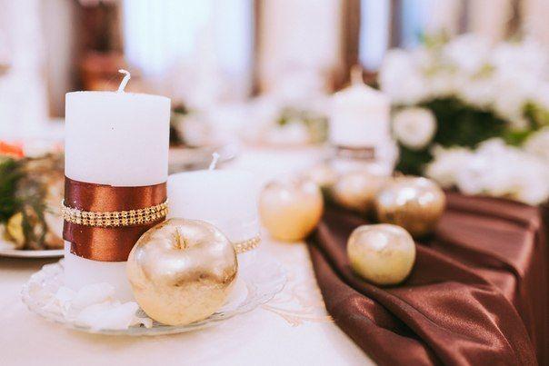 """Свадебный декор и оформление. Свадебный букет, декор бокалов, флористика на стол молодых. - фото 4177743 Студия """"Корица"""" - свадебный декор и флористика"""