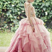 платье цвета Strawberry Ice ( Клубничное Мороженое )