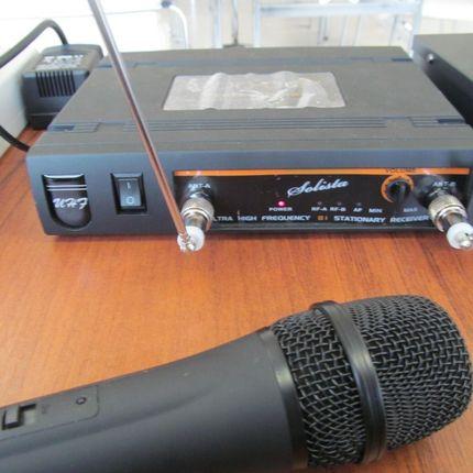 Аренда радиосистемы Solista-81, ручной микрофон