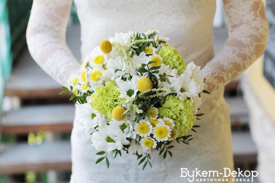 позитивный и яркий букет невесты - фото 11533634 Цветочная лавка Букет-dекор