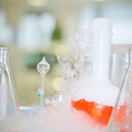 Шоу Nitro Bar - Научные коктейли